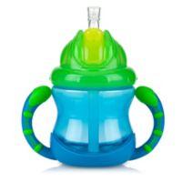 Nuby™ 2-Handle Flip-n'-Sip™ Straw Cup in Blue