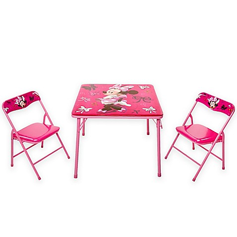 Minnie Mouse First Fashionista Activity Table Set