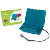 ZoomSNACK™ Bento Style Snack Box in Turquoise