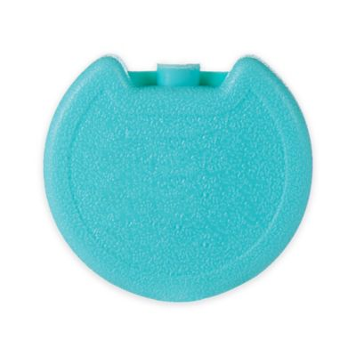aquaheat round cool pack reusable ice pack in aqua - Reusable Ice Packs