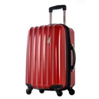 Olympia® Titan 25-Inch Hardcase Spinner Suitcase in Red