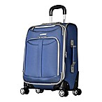 Olympia® Tuscany 21-Inch Expandable Carry On Spinner in Denim Blue