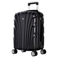 Olympia® USA Vortex 24-Inch Hardcase Spinner Suitcase in Black