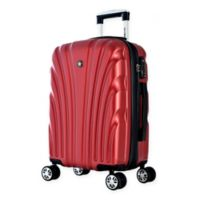 Olympia® USA Vortex 24-Inch Hardcase Spinner Suitcase in Wine