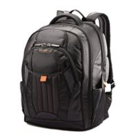 Samsonite® Tectonic Large Backpack in Black/Orange