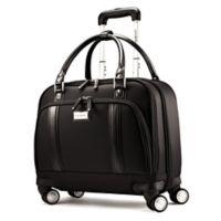 Samsonite® Xenon 2 Women's Mobile Office Laptop Spinner Bag in Black