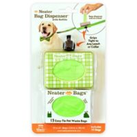 The Neater Bag 30-Count Dispenser in Green Plaid