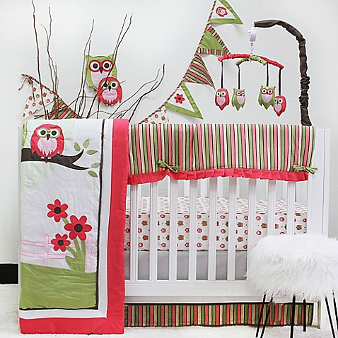 Pam Grace Creations Sweet Dream Owl 10-Piece Crib Bedding Set