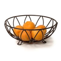 Spectrum™ Leaf Small Fruit Bowl in Bronze