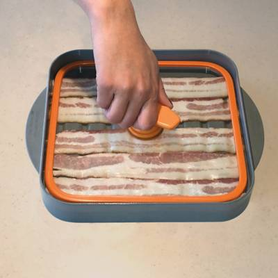 Product Image For Baconboss Microwave Bacon Cooker 3 Out Of