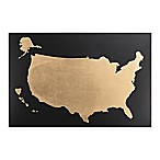 Sterling Industries Metal United States Map Wall Art