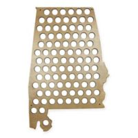 Beer Cap Alabama Map Wall Art