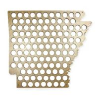 Beer Cap Arkansas Map Wall Art