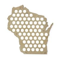 Beer Cap Map for Wisconsin