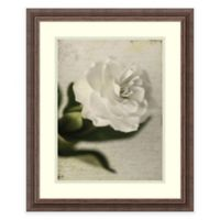 Honey Malek Gardenia Grunge II Framed Wall Art