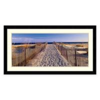 Joseph Sohm Pathway to the Beach Framed Photographic Wall Art