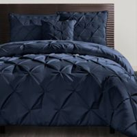 VCNY Carmen 3-Piece King Duvet Cover Set in Navy