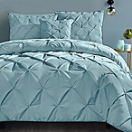 VCNY Carmen 4-Piece King Comforter Set in Blue