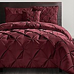 VCNY Carmen King Comforter Set in Burgundy