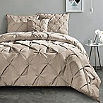 VCNY Carmen Queen Comforter Set in Taupe