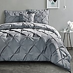 VCNY Carmen King Comforter Set in Grey