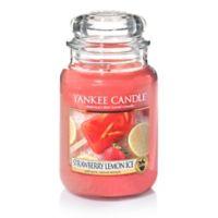 Yankee Candle® Strawberry Lemon Ice Large Classic Jar Candle