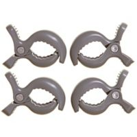 Dreambaby® Strollerbuddy® Stroller Clips in Grey (Set of 4)