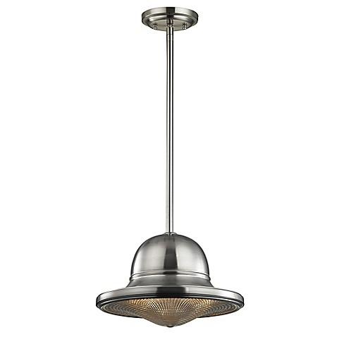 Buy Elk Lighting Urbano Ceiling Mount Mini Pendant In Brushed Nickel From Bed Bath Beyond