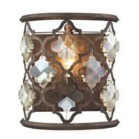 Elk Lighting Armand Wall-Mount Sconce in Weathered Bronze