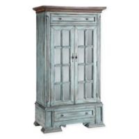 Stein World Hartford Antique Accent Cabinet in Blue