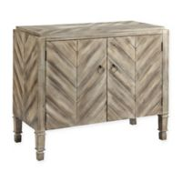 Stein World Caleb Accent Cabinet in Driftwood
