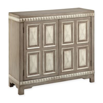 Stein World Butler Accent Cabinet In Grey