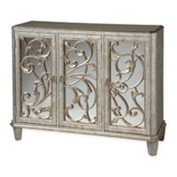 Stein World Leslie Accent Cabinet in Silver