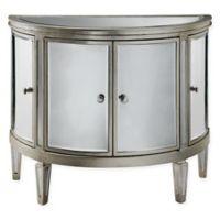 Stein World Halton Accent Cabinet in Silver