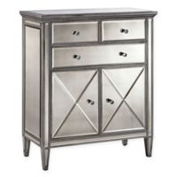 Stein World Dana Accent Cabinet in Silver