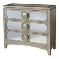Stein World Carlton Accent Chest in Metallic Champagne