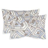 Safavieh Ricci Oblong Throw Pillows in Lilac Haze (Set of 2)