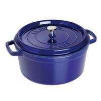 Staub 7 qt. Round Cocotte in Dark Blue
