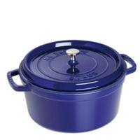 Staub 13.25-Quart Round Cocotte - Dark Blue