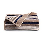 Izod® Racer Stripe Hand Towel in Khaki