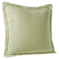 Historic Charleston Collection Matelassé European Pillow Sham in Sage