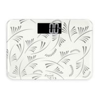 Escali Small Space Digital Bathroom Scale in White