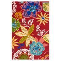 Safavieh Four Seasons Wonderland 2-Foot 6-Inch x 4-Foot Area Rug in Red