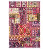 Safavieh Monaco Jade 6-Foot 7-Inch x 9-Foot 2-Inch Area Rug in Pink Multi