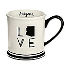 Formations Arizona State Love Mug in Black and White