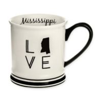 Formations Mississippi State Love Mug in Black and White