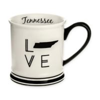 Formations Tennessee State Love Mug in Black and White