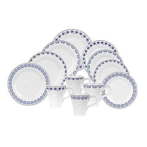 Sophie Conran for Portmeirion® Blue Dinnerware Collection  sc 1 st  Bed Bath u0026 Beyond & Sophie Conran for Portmeirion® Blue Dinnerware Collection - Bed Bath ...