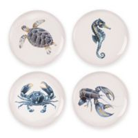 Fitz and Floyd® Cape Coral Accent Plates (Set of 4)