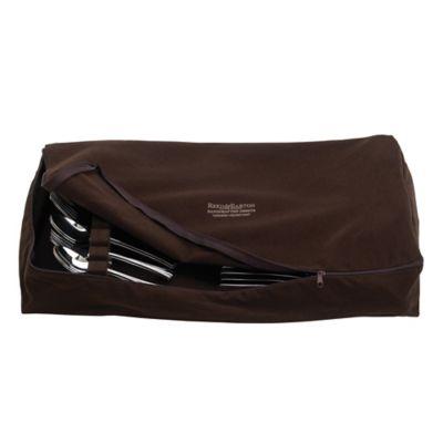 Reed U0026 Barton Zippered Flatware Drawer Liner In Brown